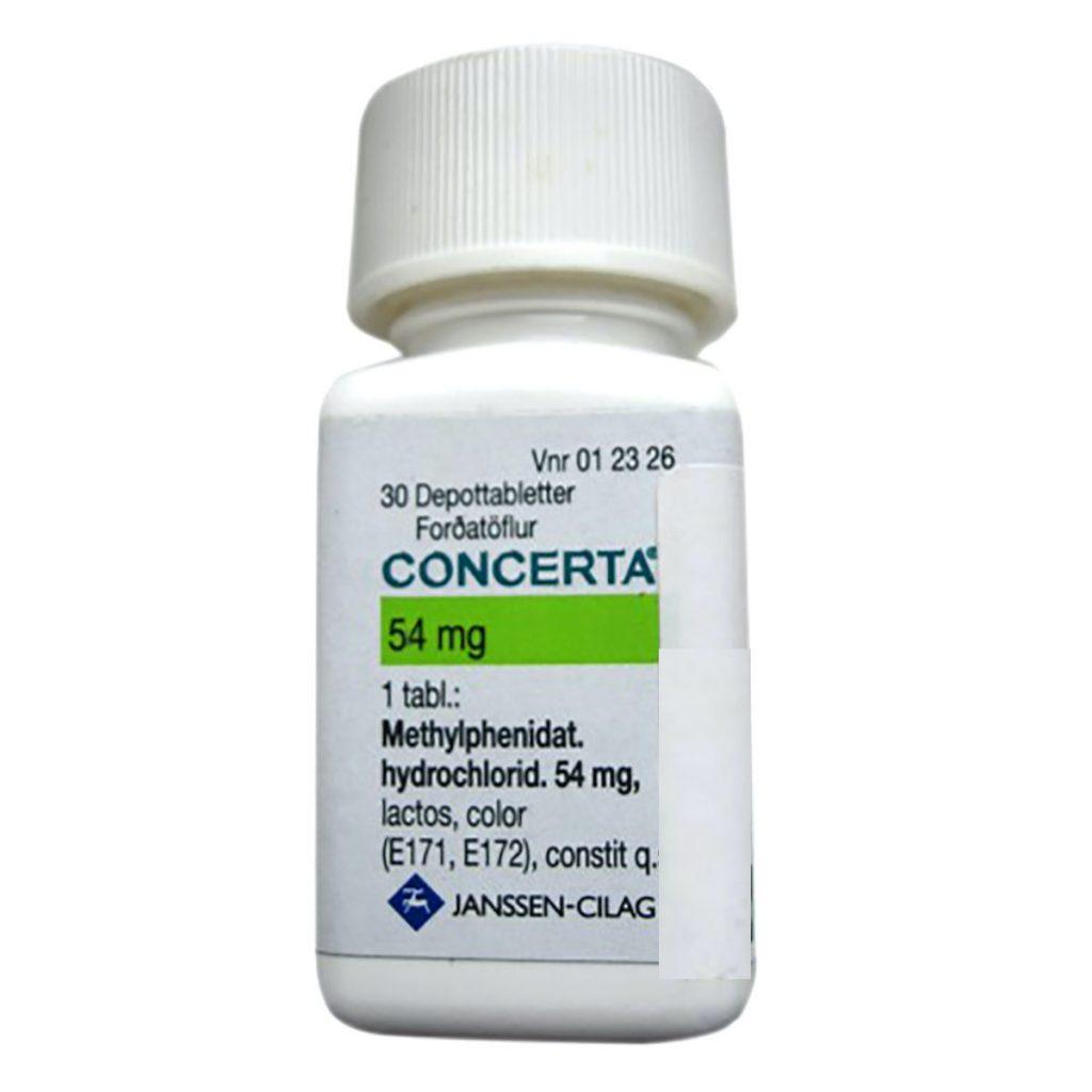 Köpa Concerta Methylphenidate